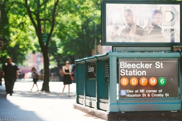 bleecker street métro new york