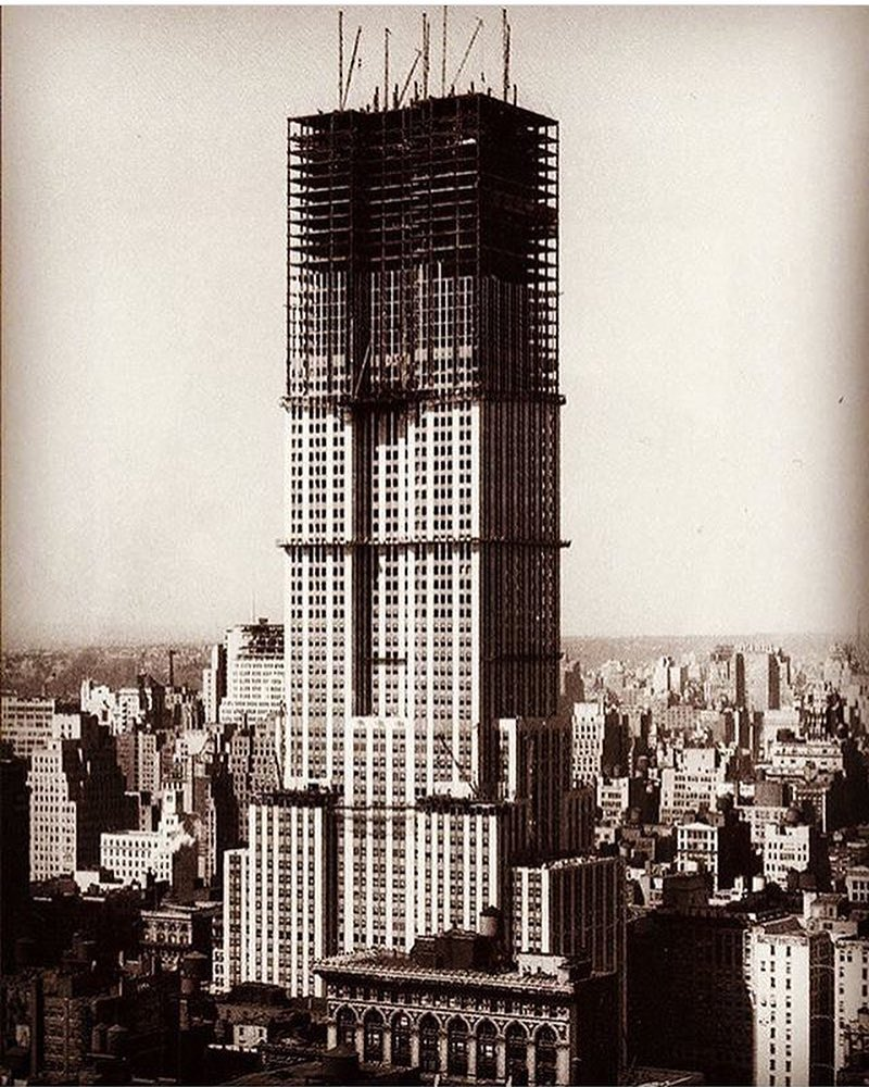 Construction empire state building new york 7 new york for Building sans fenetre new york