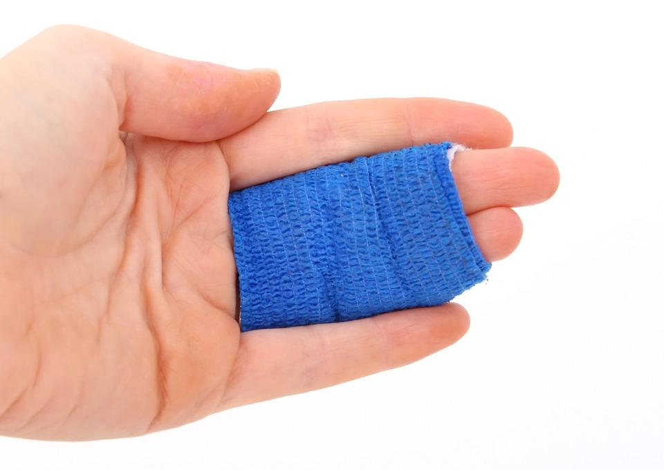 doigt cassé