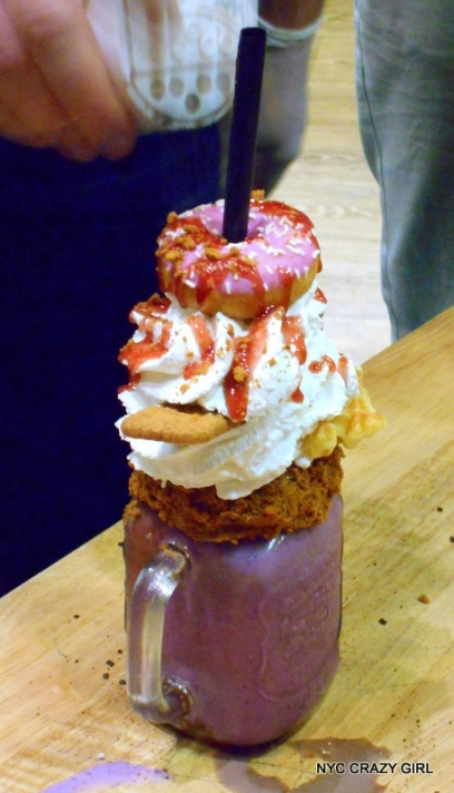 freakshake fruits rouges