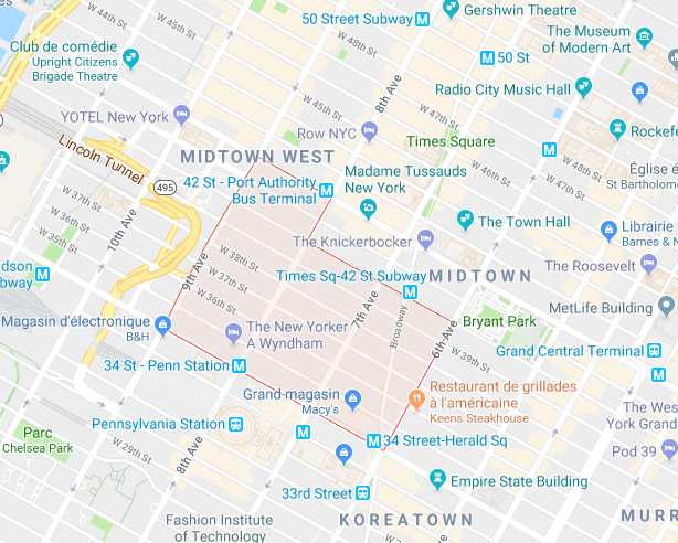 garment district plan