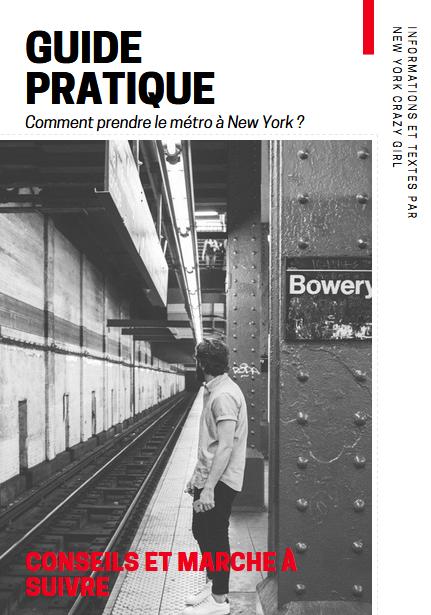 guide pratiqe métro new york