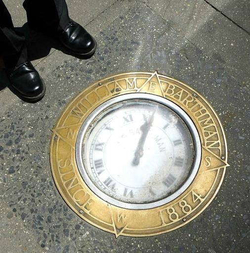 horloge-trottoir-barthman-new-york-wall-street-new-york-crazy-girl