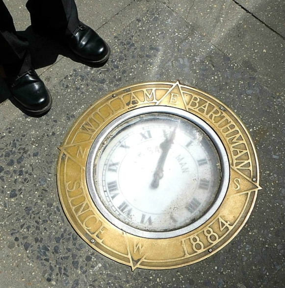 horloge-trottoir-barthman-new-york-wall-street-new-york-crazy-girl