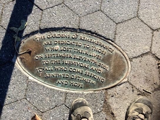 mémorial 11 septembre battery park new york
