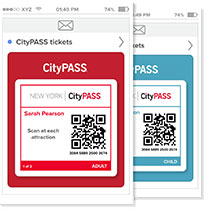 new york city pass qrcode