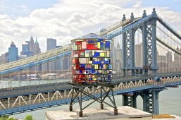 Water Tower by Tom Fruin 2012