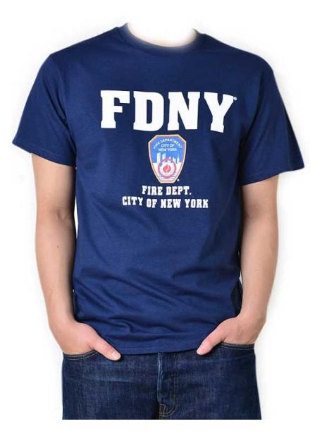 t-shirt-fdny-bleu
