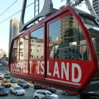 New York vu d'en haut avec le Roosevelt Island Tramway