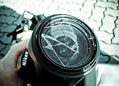 appareil-photo-objectif-casse