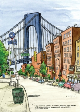 bay-ridge-verrazano-bridge-dessin