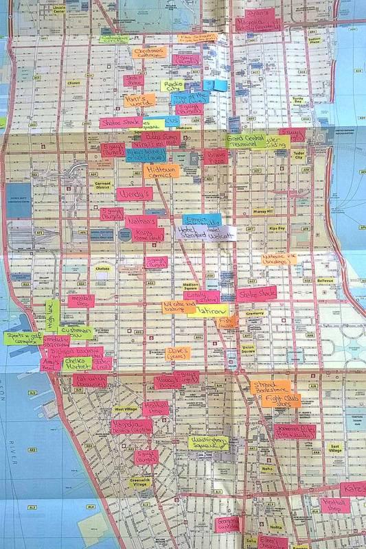 carte-michelin-plan-new-york
