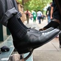 À la rencontre des cireurs de chaussures de New York