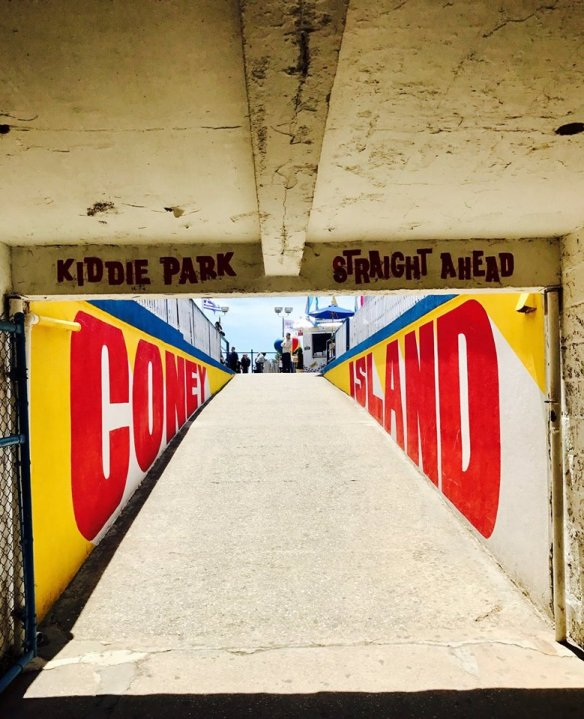 coney island luna park brighton beach brooklyn big wheel