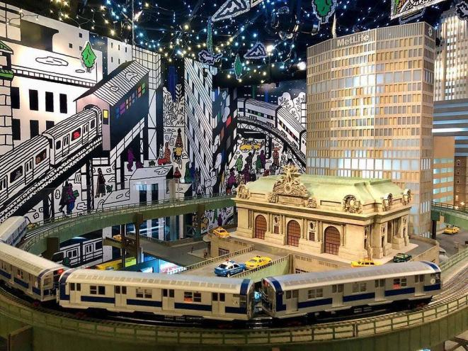 grand central train show grand central terminal new york