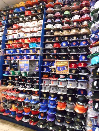LIDS times square casquette new york cadeau gangsta NBA (1)