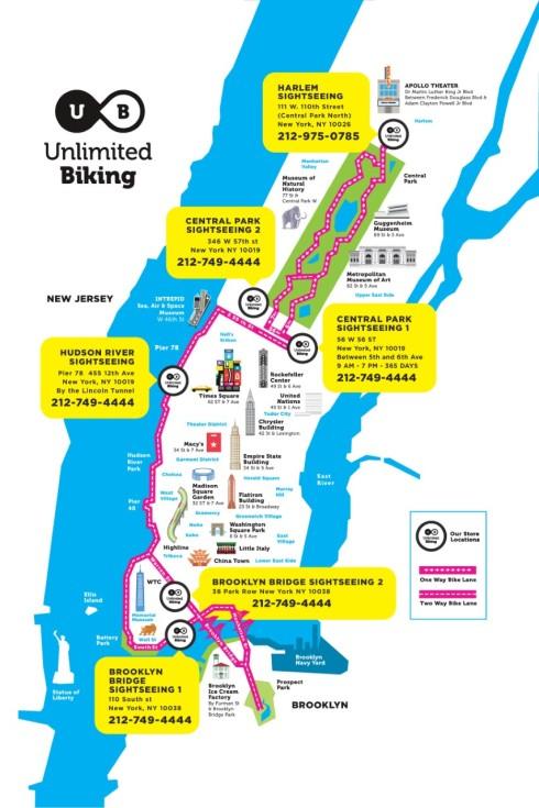 location vélo new york pas cher
