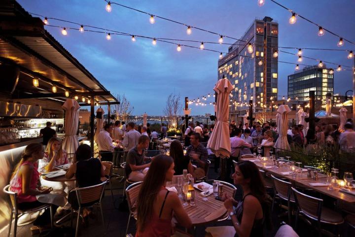 8 Rooftops Sympas O 249 Boire Un Verre 224 New York New York