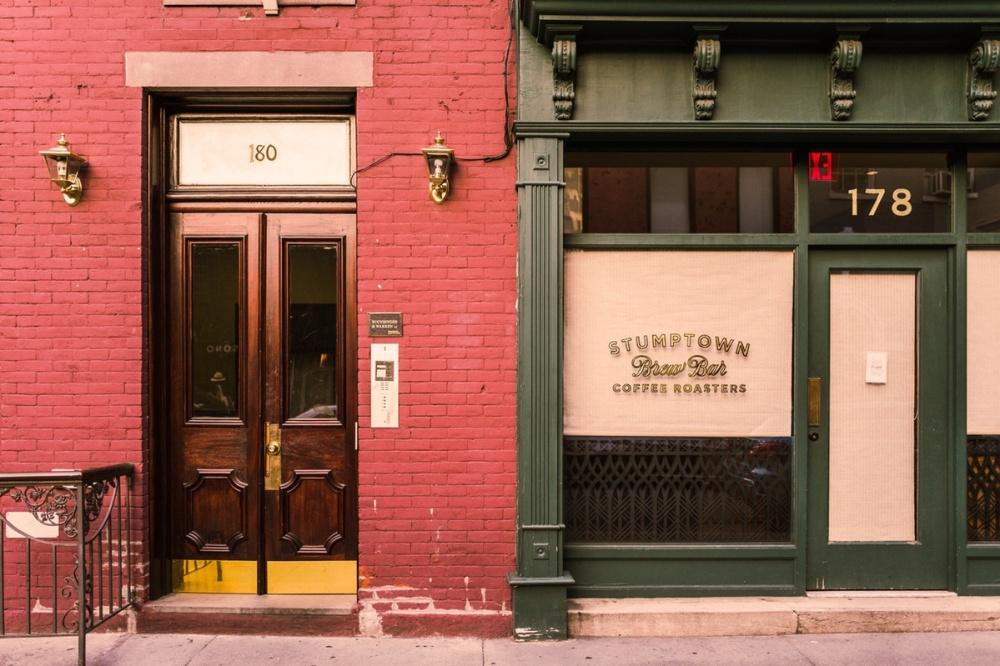 STumptown cafe new york