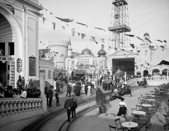 Surf Avenue luna park coney island brooklyn 1905 (8)