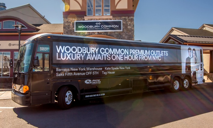 woodbury common outlet bus new york
