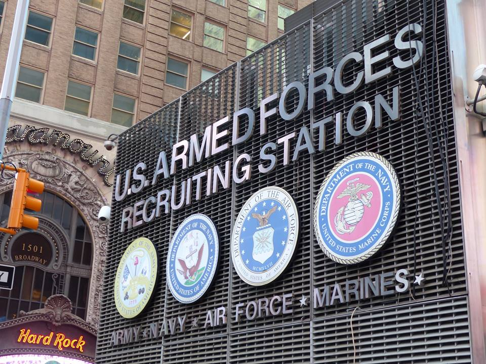 army times square new york
