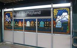 art mosaique peinture métro new york arts for transit (1)