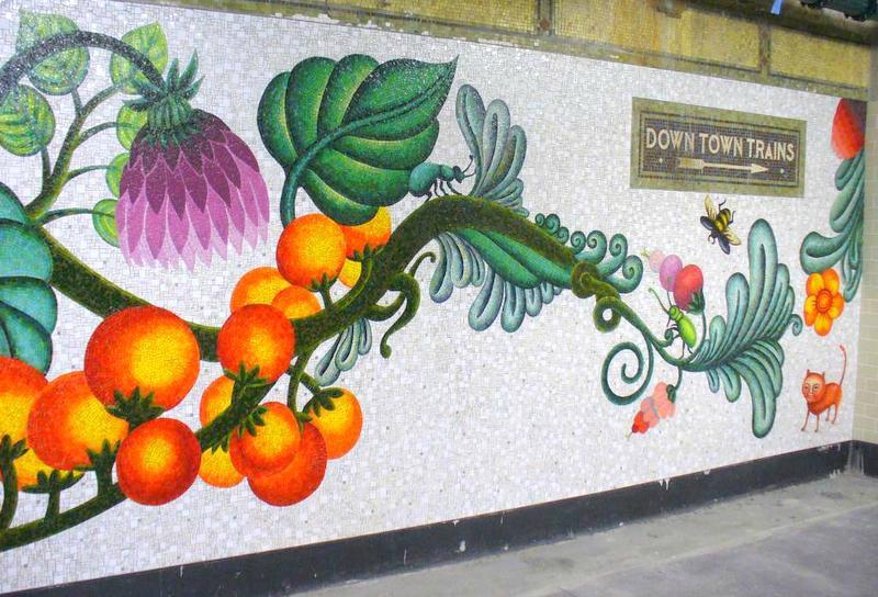 art mosaique peinture métro new york arts for transit (2)