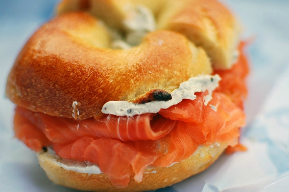 bagel new york food casher lox saumon fumé (4)