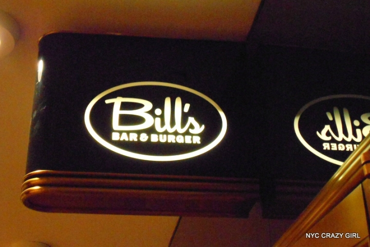bill's bar and burger rockefeller center new york