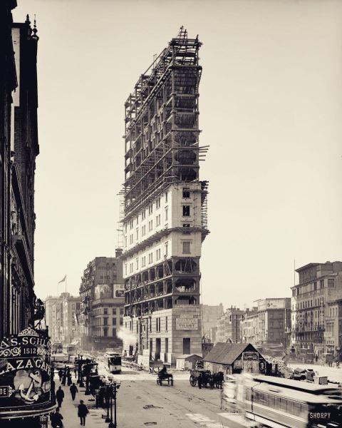 construction times building 1903