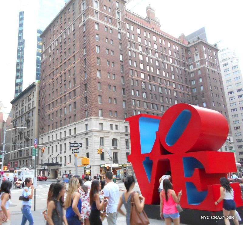 love sculpture new york