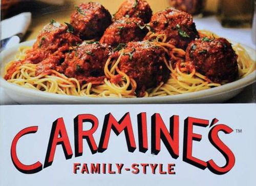 manger italien à new york pizza pasta sandwich cannoli carmine's