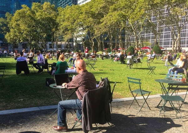 park new york square