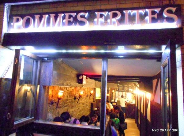 pommes frites new york