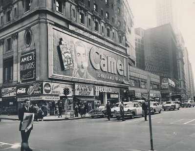 publicités sur times square 1950 (1)