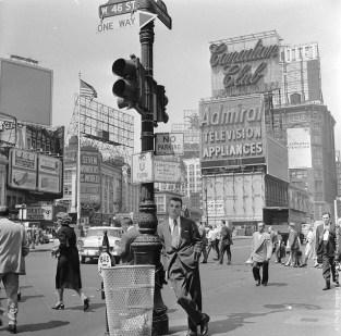 publicités sur times square 1950 (2)