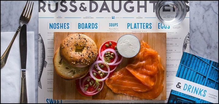 russ and daughters bagel new york casher lower east side