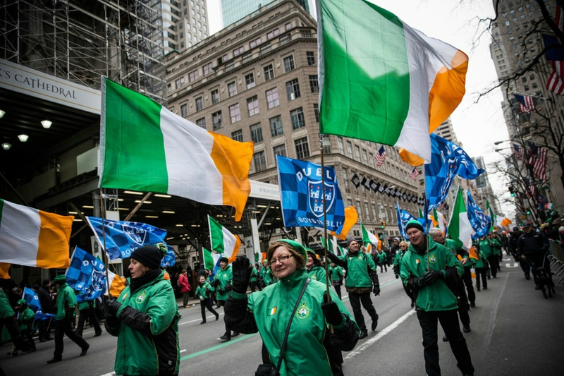 st patrick's day new york parade (1)