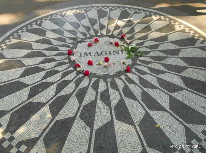strawberry fields new york central park lennon