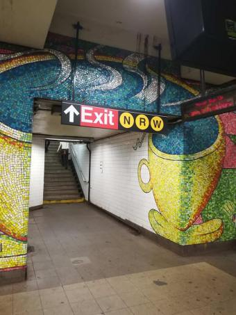 street art métro new york