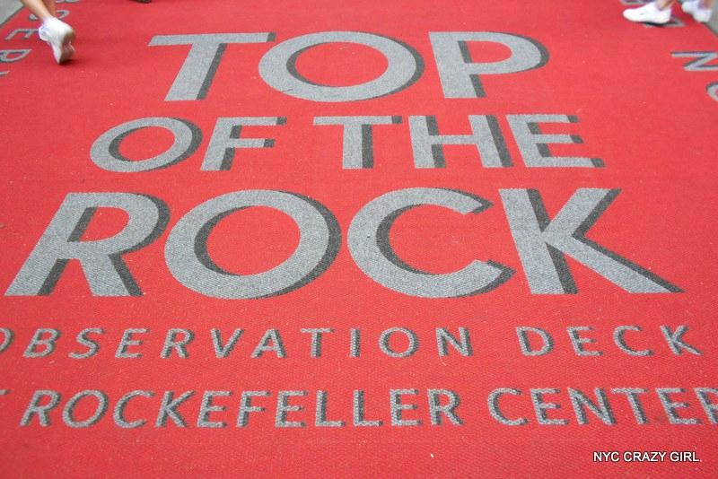 top of the rock rockefeller center new york
