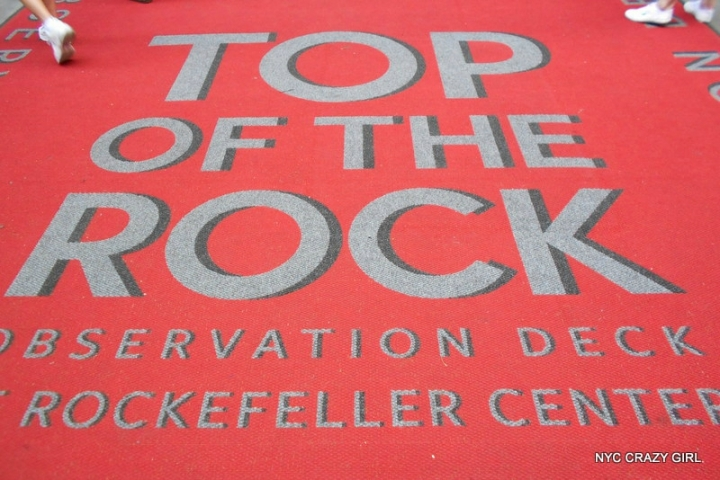 top of the rock rockefeller center new york