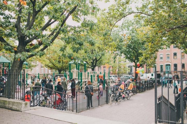 aire de jeu enfant palyground new york