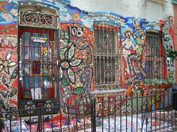 Brooklyn new york mosaic house susan gardner