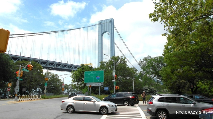 Brooklyn new york verazzano bridge bay ridge