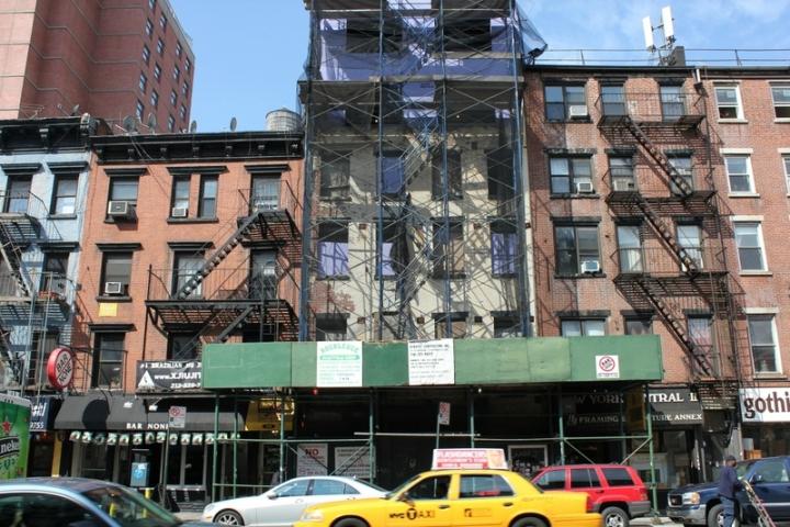 échafaudages new york street