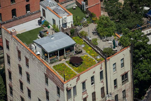 maison sur les toits new york rooftop penthouse