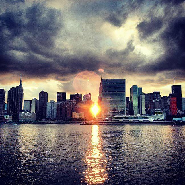 manhattanhenge coucher soleil new york (3)