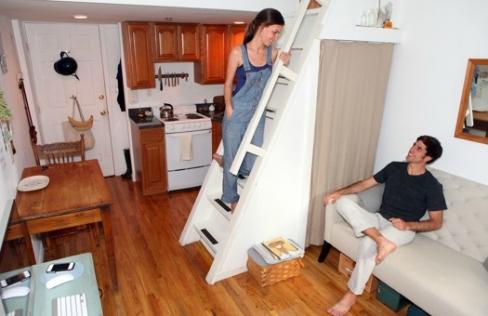 micro appartement new york brooklyn logement (1)